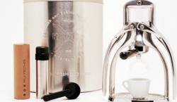 Enter to win the earth-friendly ROK Manual Espresso Maker.