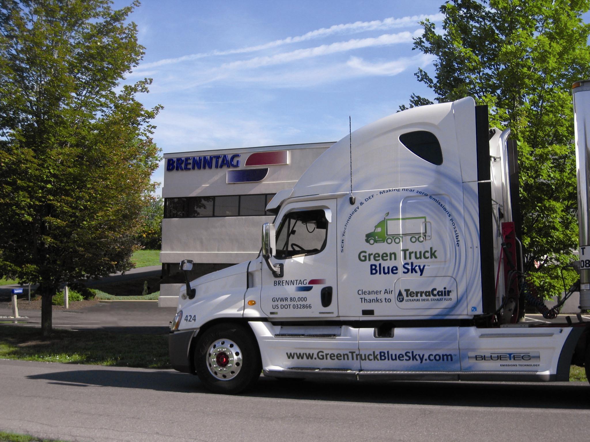 Brenntag North America Grows Diesel Exhaust Fluid Sales Force