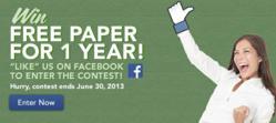 Win Free Paper