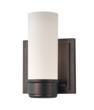 The new Lucas sconce by Feiss in the Dark Plated Bronze finish
