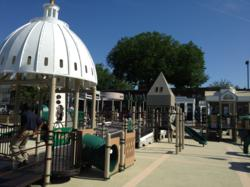 Sparks@Play provided the new inclusive playground at Rosedale Recreation Center in Northeast DC.