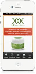 Dixie Botanicals app for iOS on the iPhone
