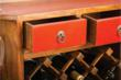 Image of Drawers of Red Emperor™ Revolving Wine Bar