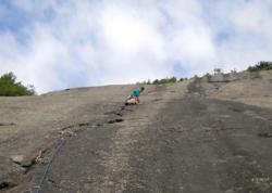 Adirondack rock climbing