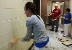 ProGroup Team Member Painting for KW Red Day