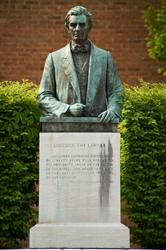 LMU's Main Campus in Harrogate, Tenn., includes many tributes to President Abraham Lincoln.
