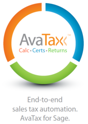 AvaTax for Sage 100 ERP