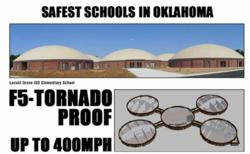 safest house,the safest house,40 point producitons,Eric WIlliams,Oklahoma tornadoes,storm event,F5 storm event,tornado-proof house,fireproof house,flood-proof house