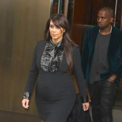 Kim Kardashian expecting a girl peculiar magazine