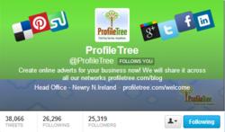 ProfileTree gets more Twitter Followers