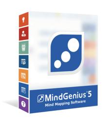 Picture of MindGenius 5 Product Box