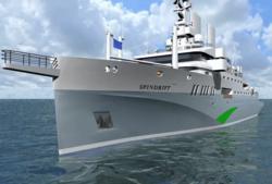 Spindrift concept vessel
