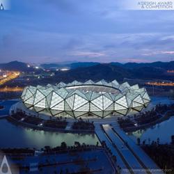 Shenzhen Universiade Sports Center by Conceptlicht Gmbh