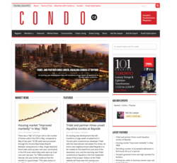 Condo.ca home page for June 4, 2013