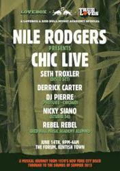 Nile Rodgers Presents CHIC LIVE