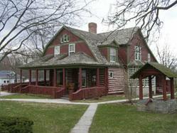 The Gene-Stratton Porter historical house.