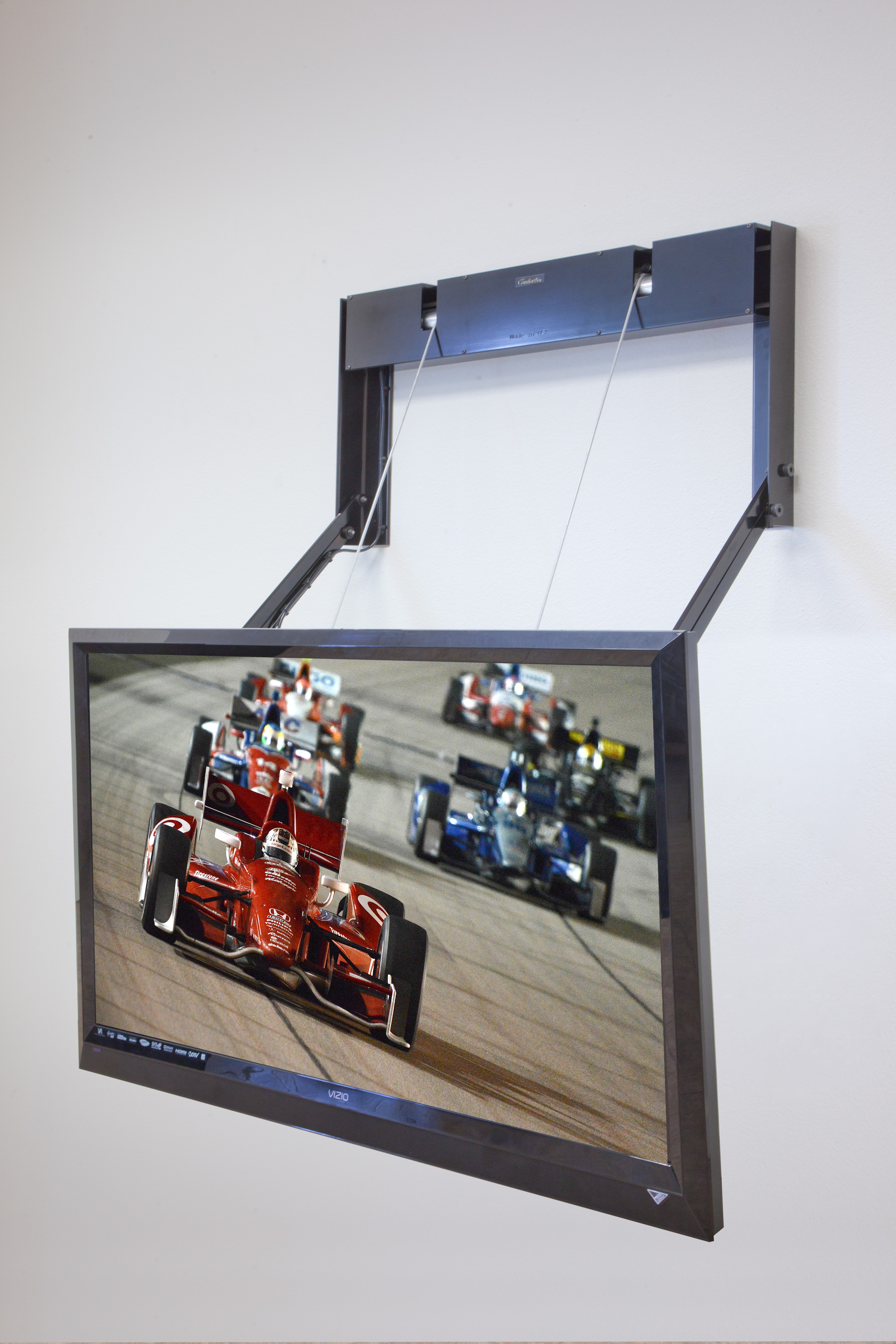 New Flatscreen Mount Provides Perfect Viewing Experience