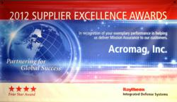 Raytheon IDS Four Star Supplier Excellence Award