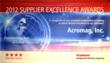 Acromag Receives the Four Star Supplier Excellence Award from Raytheon...