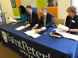 Saint Peter's University Partners with Rising Tide Capital