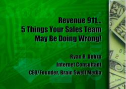 sales teams, revenue