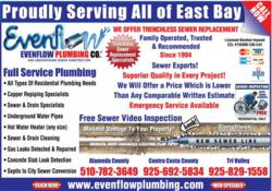 San Leandro Plumbing Service and Repair