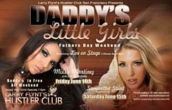 Father's Day at Hustler Club SF