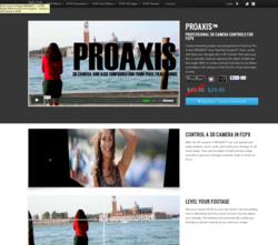 Final Cut Pro X Effects - FCPX Plugins - Pixel Film Studios - PROAXIS - 3D Camera Controls - Leveler
