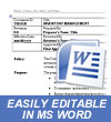 Policies Procedures Template