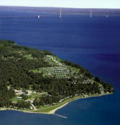 Photo of Mackinaw Mill Creek Camping Top Rated Family Friendly Campground in Michigan