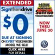 "Hurry In: Sunrise Volkswagen's ""Sign Then Drive Event"" Has Been..."