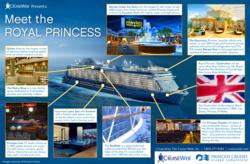 Meet the Royal Princess an infographic by The Cruise Web team.