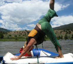 Green River rafting and Yoga retreat.