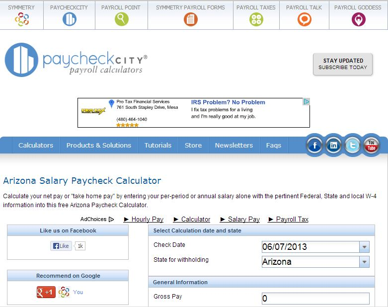 Symmetry Software Enhances PaycheckCity with Responsive Web – W4 Worksheet Calculator