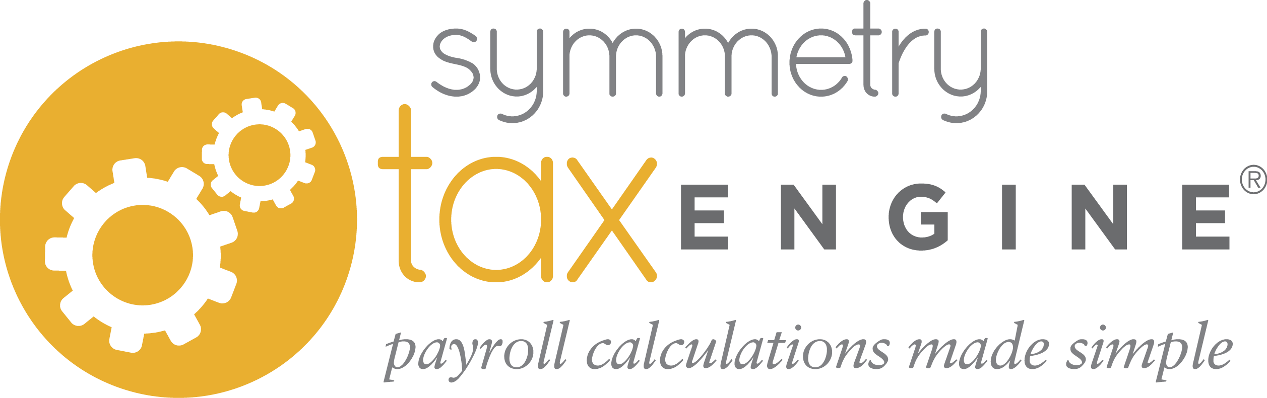 Symmetry Tax Engine, calculates payroll withholding and employer taxes