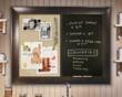 Chalk Boards, Combination Board, dry erase boards