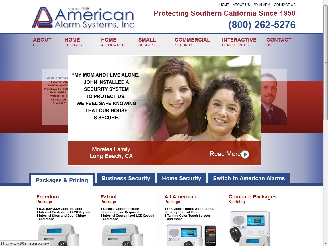 American Alarm Systems Is Now Offering Service