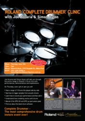 roland drum, roland drum clinic, roland v-drum, roland vdrum, haworth music, haworth guitars