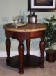 """RSVP Round 36"""" Kitchen Island in a Misto Cherry and Natural Sherwin Williams Finish, Kaco Model# K536-M"""