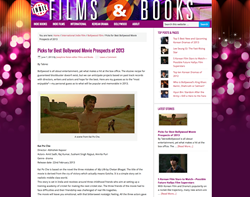 Home page of Indie Films and Books June 8, 2013
