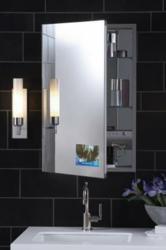 Robern Flat Plain Mirror Cabinet MT24D6FPRTV