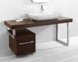 """Virtu ES-1660 - Lyle 60"""" - Bathroom Vanity in Walnut"""