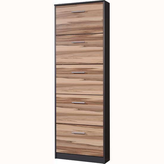 Make the best use of hallway space with the latest launch of contemporary furniture product - Shoe cabinet for small spaces concept ...