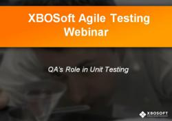 Agile Testing Webinar