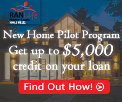 builder incentive, new home pilot program, home loans