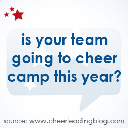 Cheerleading Blog June Camp Poll