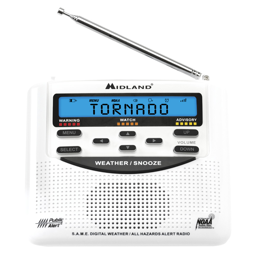 6034c668f4a Donation to Shelter Oklahoma Schools Made with Weather Alert Radio Purchase
