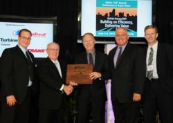 Presentation of the 2013 IDEA System of the Year Award to Markham District Energy Inc.