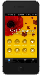 OSI Clinic Network Mobile App