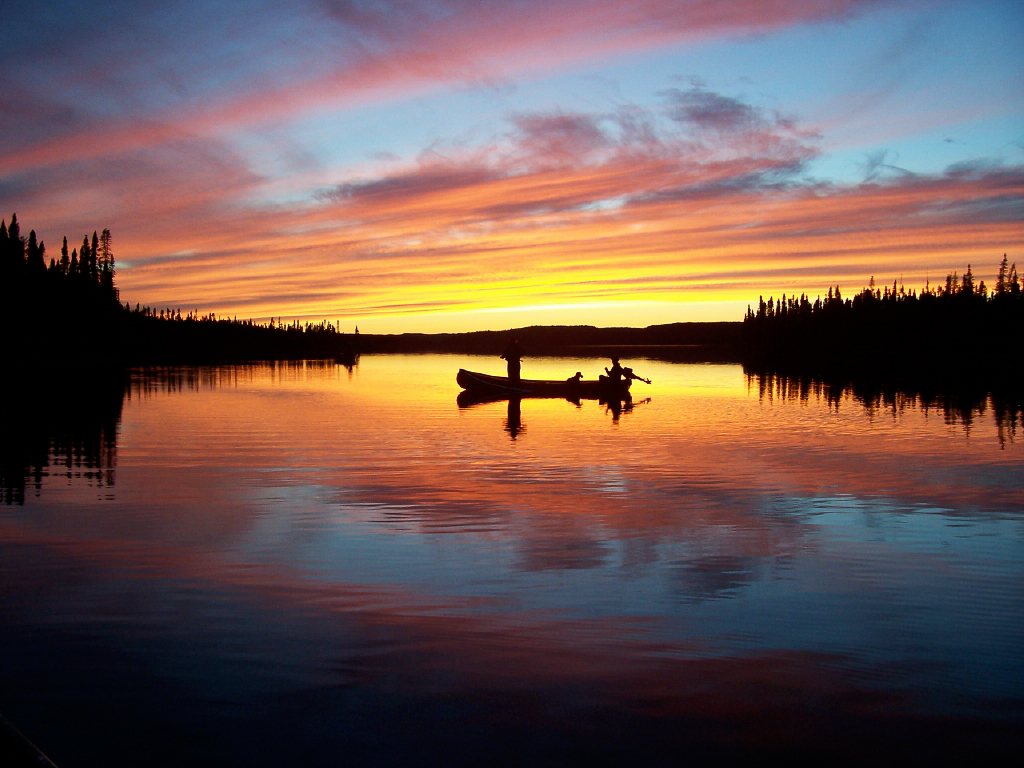 Image Gallery Sunset Fishing